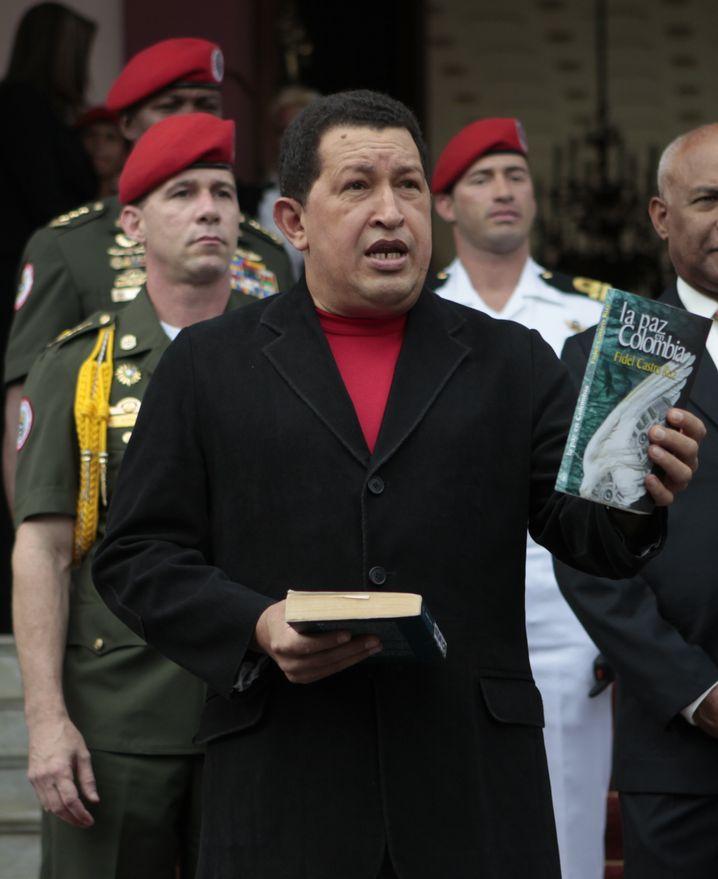 Venezuelas Präsident Hugo Chávez: Aufrüstung für vier Milliarden Euro