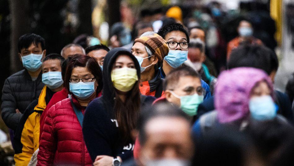 Eine Million Menschen sind weltweit mit dem Coronavirus infiziert
