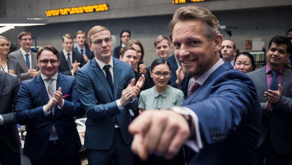 """ZDF-Vorzeigeproduktion """"Bad Banks"""""""