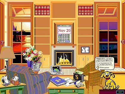 Microsoft Bob: Willkommen im Wohnzimmer mit Windows