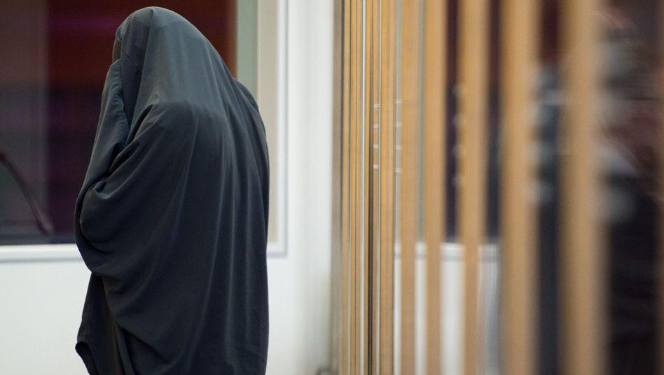 Angeklagte Karolina R. im Oberlandesgericht Düsseldorf