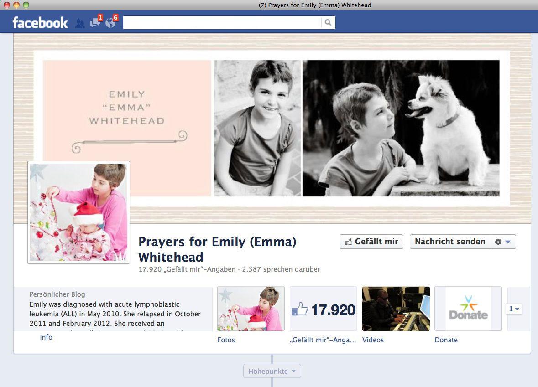 EINMALIGE VERWENDUNG NUR ALS ZITAT SCREENSHOT Emily / Facebook / WISSENSCHAFT