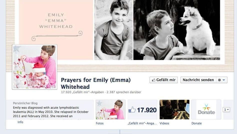 """""""Prayers for Emily Whitehead"""": Tagebuch des Leukämie-kranken Mädchens auf Facebook"""