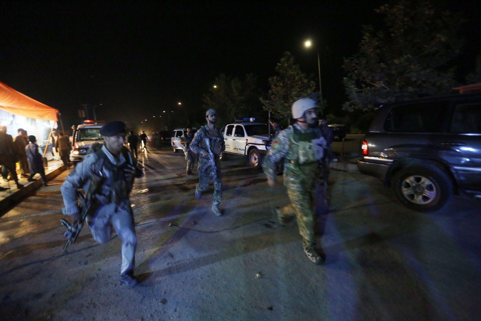 Angriff Amerikanische Universität Kabul