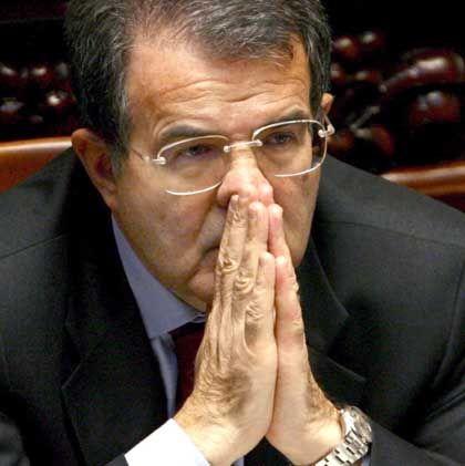 Prodi: Herbe Niederlage