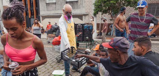 Brasilien: Immer mehr Obdachlose in São Paulo - in der Corona-Krise rutscht die Mittelschicht ab