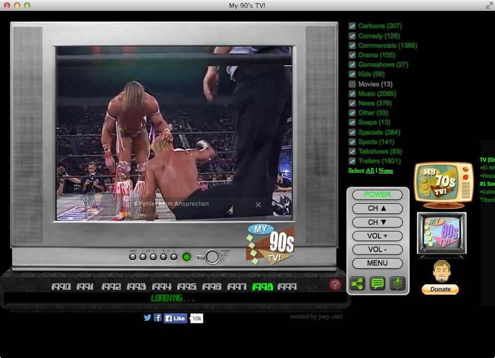 NUR ALS ZITAT Screenshot TV-Simulator