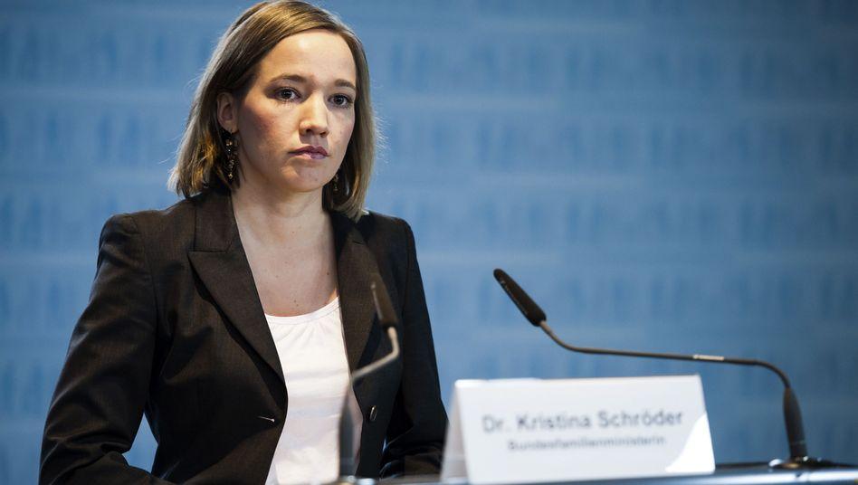 Familienministerin Schröder: Zentrale Forderungen nicht durchgesetzt