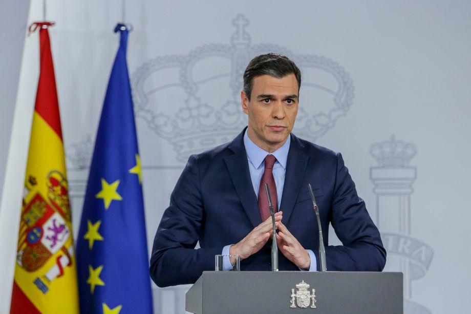 """""""Wir werden diese Schlacht gewinnen"""": Pedro Sánchez in seiner bisher wichtigsten TV-Ansprache"""