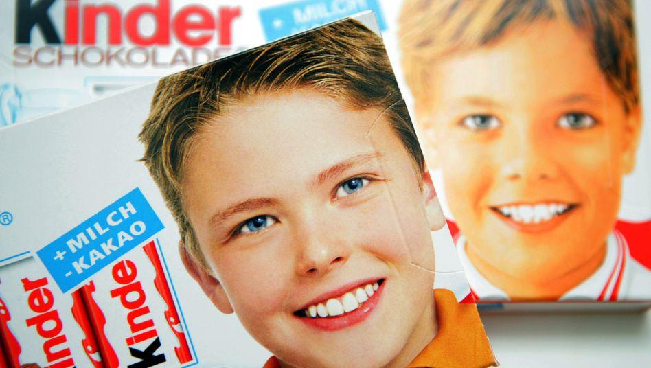 Markengesicht: Über die Jahre wurde das Kinderschokolade-Foto dem Zeitgeist angepasst