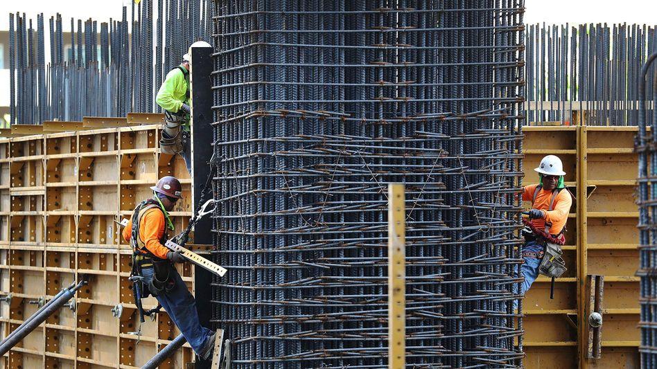 Bauarbeiter in Miami