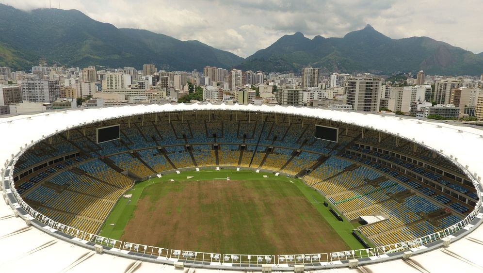 Maracanã-Stadion: Vertrockneter Rasen, herausgerissene Sitze