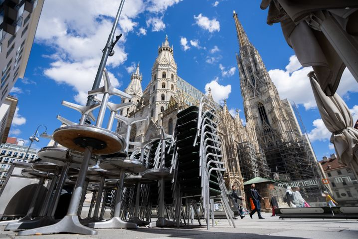 Wien am Wochenende vor den Lockerungen für Gastronomie und Tourismus