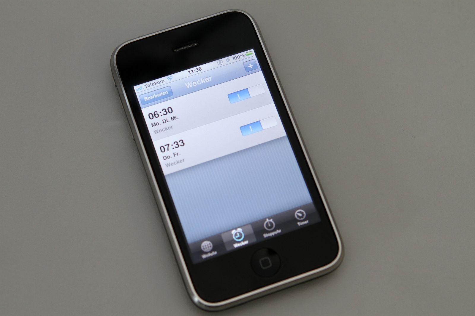 iPhone / Wecker