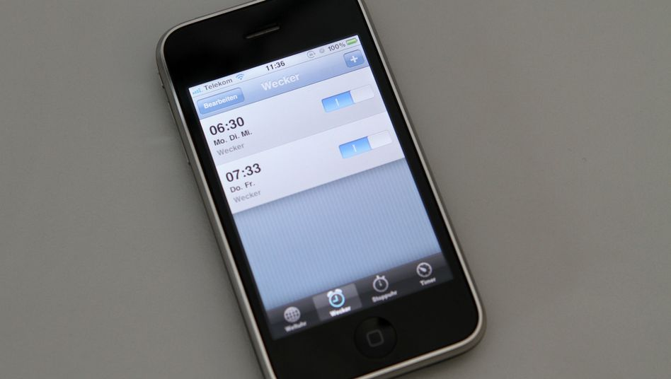 iPhone: Am Montag blieben viele Apple-Wecker einfach stumm