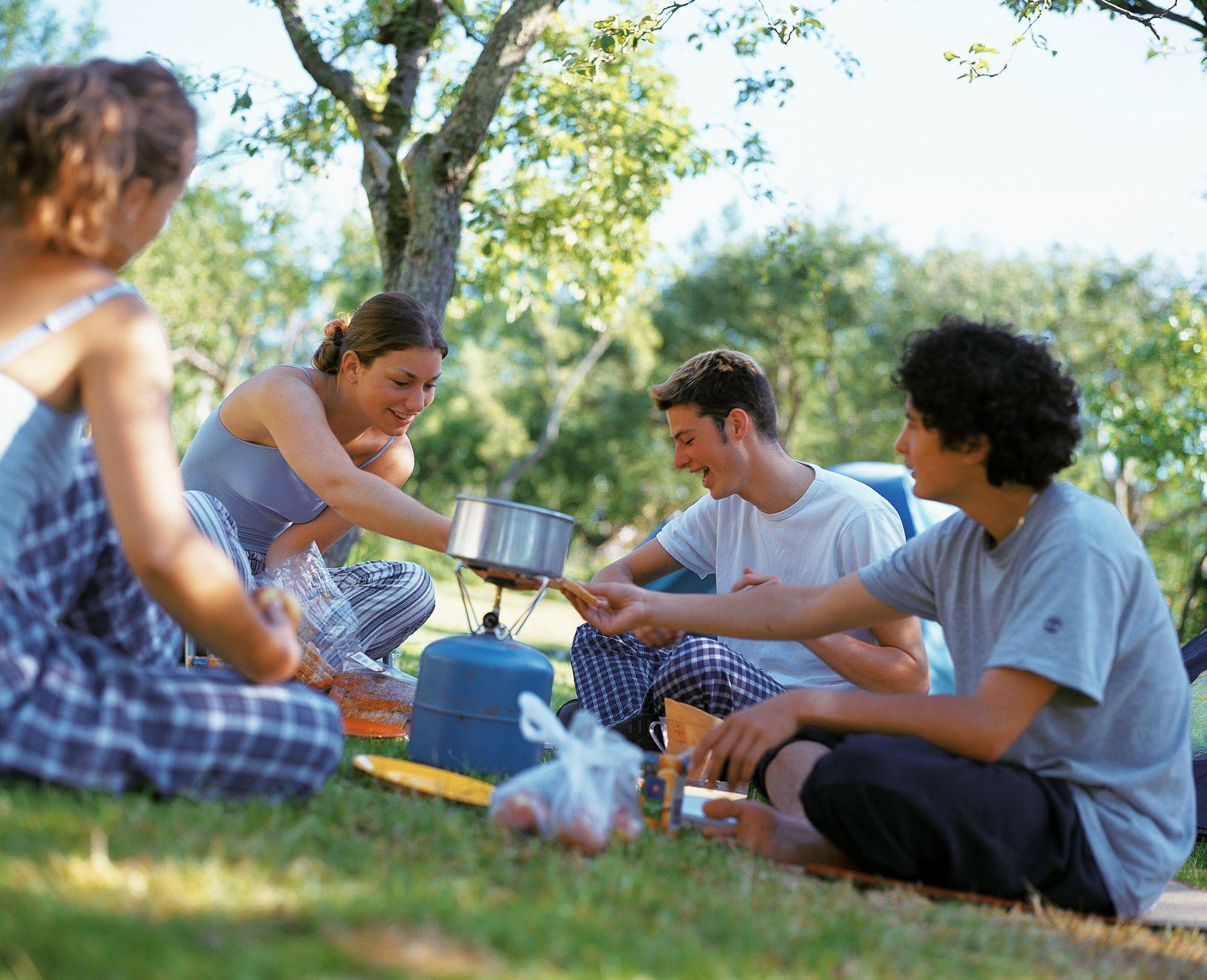 NICHT MEHR VERWENDEN! - Freunde / Picknick / Camping
