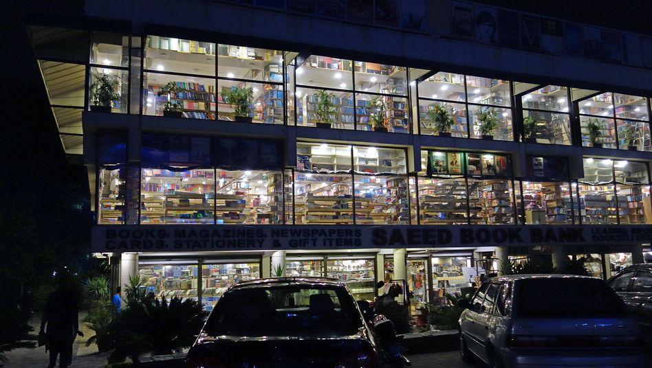Buchladen Saeed Book Bank in Islamabad, Pakistan
