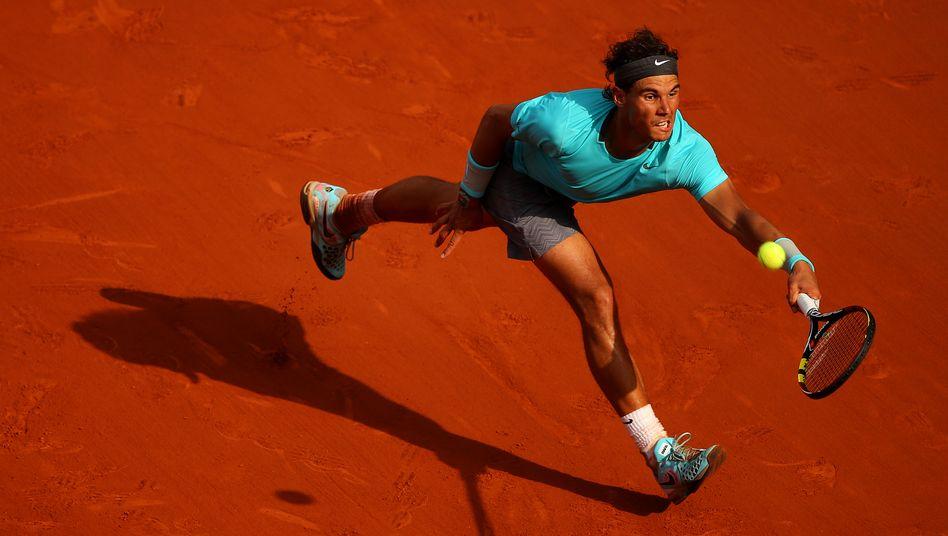 Rafael Nadal in Paris bei den French Open 2014