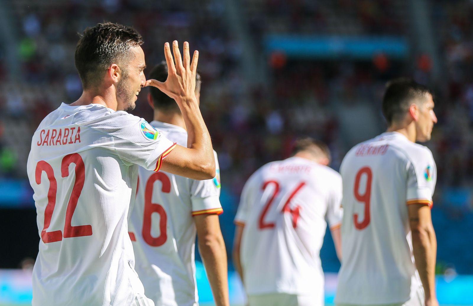 Fußball EM - Slowakei - Spanien