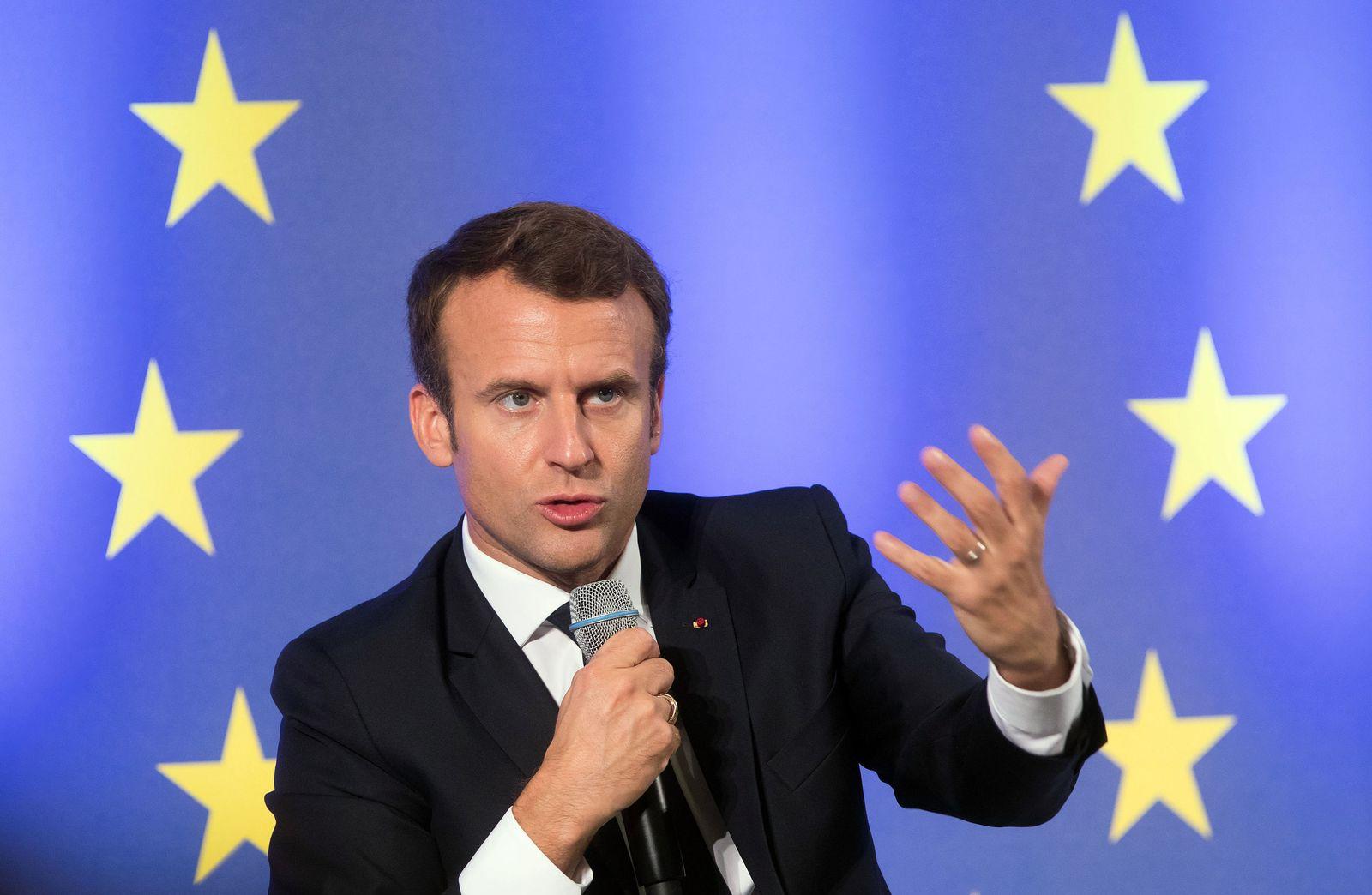 Emmanuel Macron / Europa