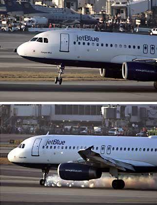 Notlandung des Airbus: Vom Fernsehen live begleitet