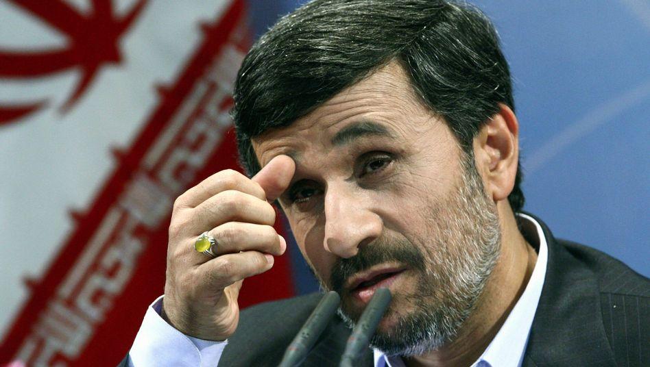 "Präsident Ahmadinedschad: ""Begrenzt Probleme verursacht"""