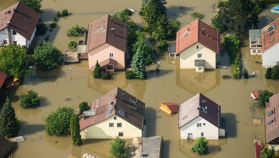 Hochwasser bei Deggendorf in Bayern (Archivbild)