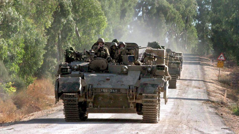 Israelische Panzer (2006)