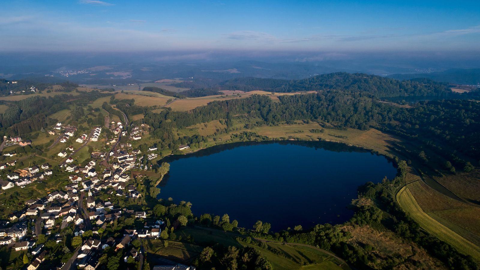 Seen und Vulkanismus in der Eifel