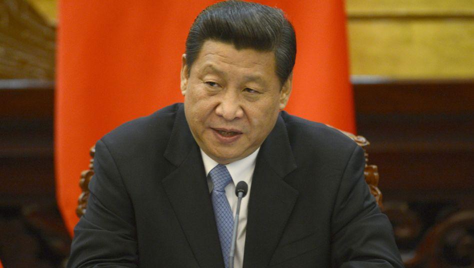"""Präsident Xi (Archivbild): """"Lage beständig verschlechtert"""""""
