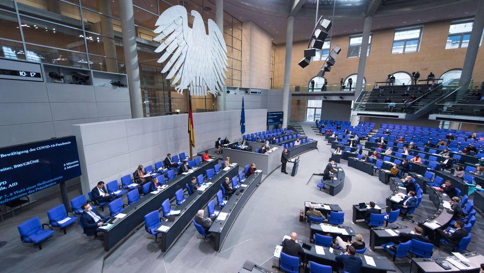 Bundestagsplenum: 39,5 Milliarden Euro für Überbrückungshilfen