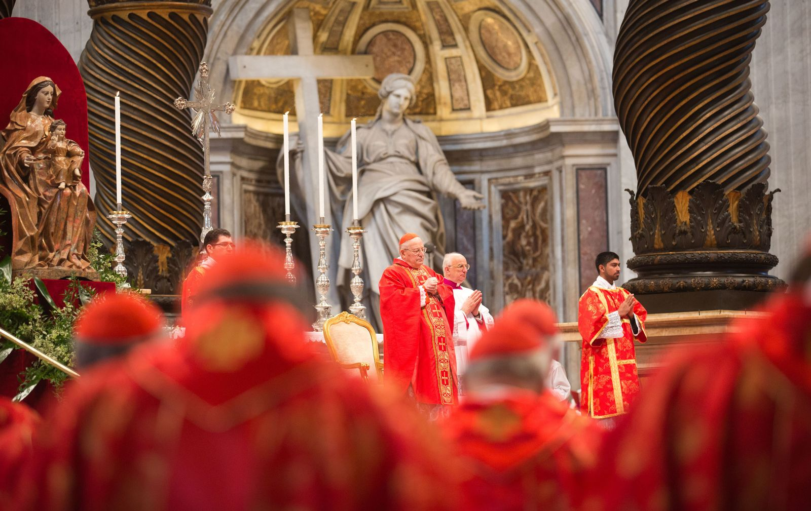 Vatikan/ Papst-Wahl-Messe