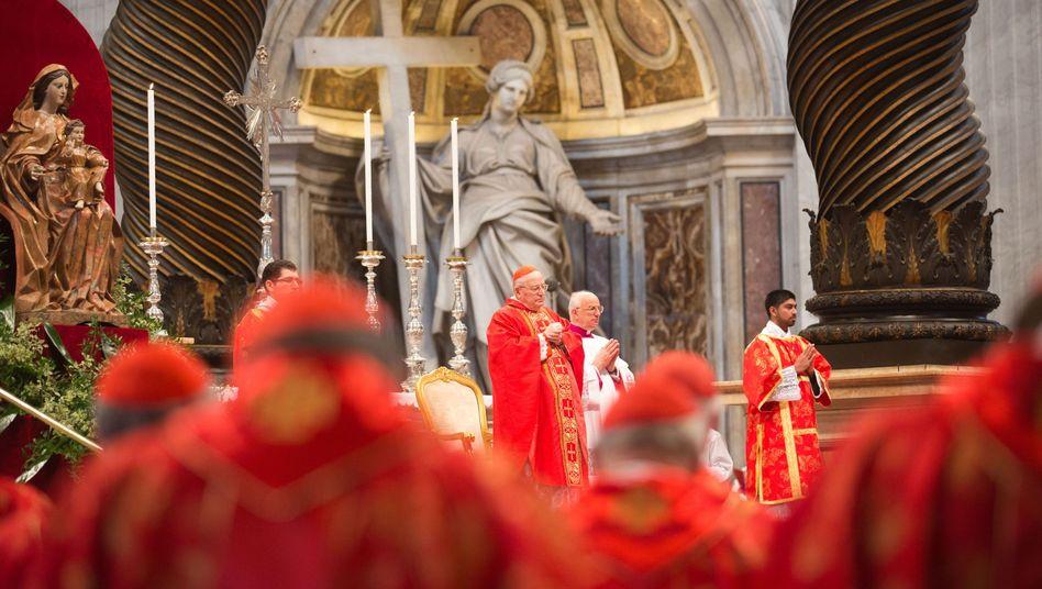 Papstwahl in Rom: Frage der Glaubwürdigkeit