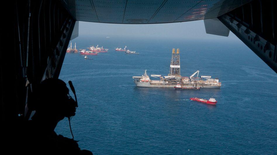 Golf von Mexiko: US-Regierung glaubt an schnelles Ende der Ölpest
