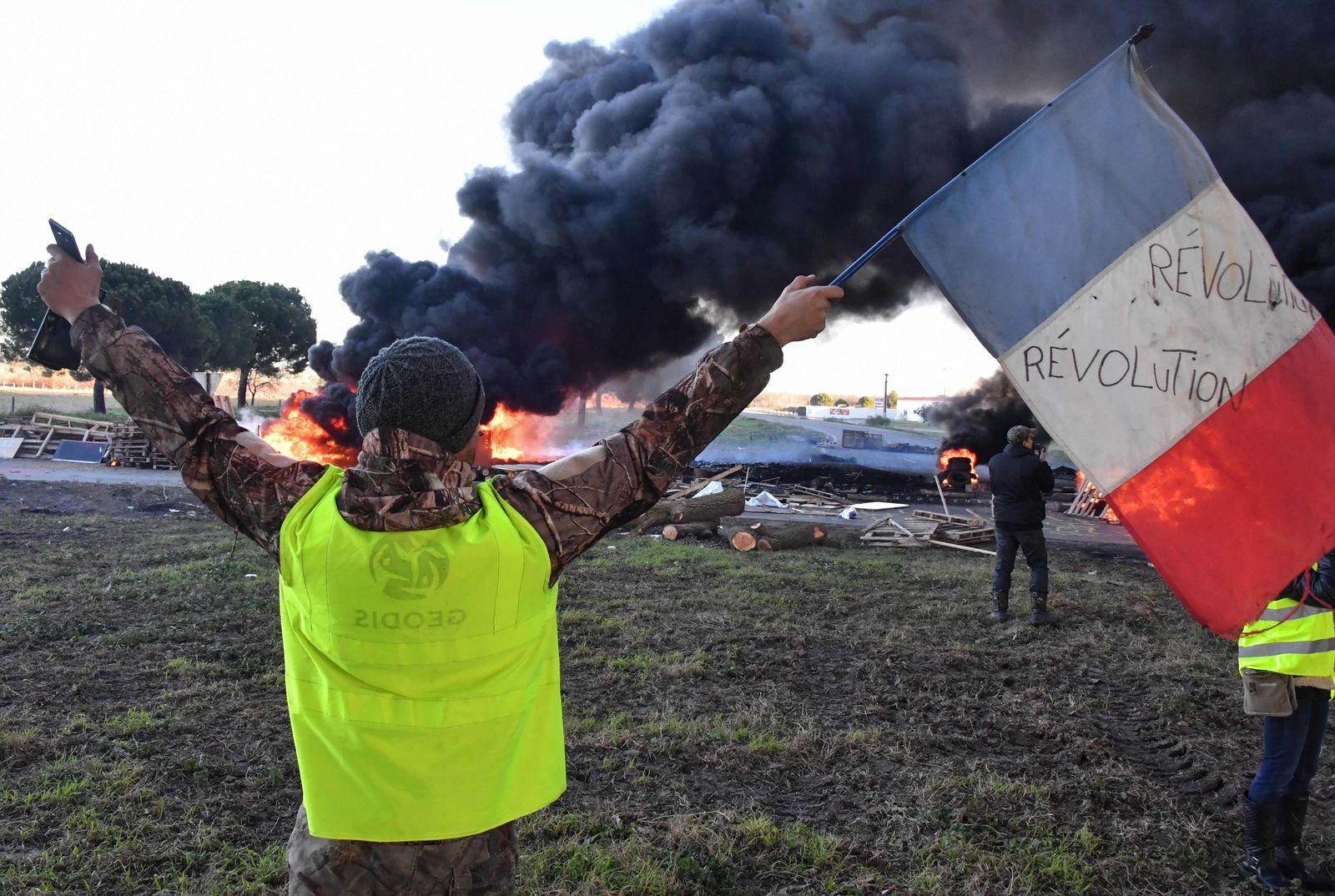 Proteste / Gelbwesten