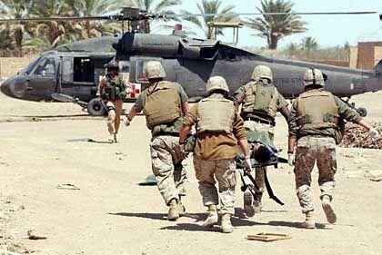 Verletzter US-Soldat: Fast alle erlebten Beschuss