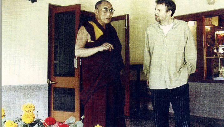 """Treffen mit dem Dalai Lama: """"Er hat die ganze Zeit gekichert"""""""