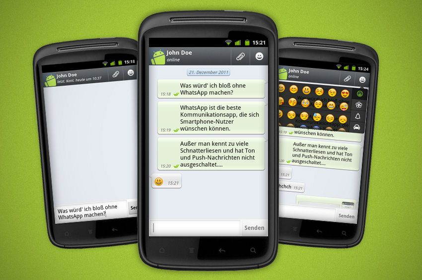 Android-Apps Xmas / Whatsapp