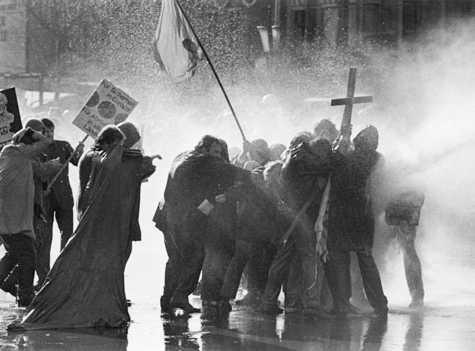 Ostermarsch 1968 in West-Berlin.