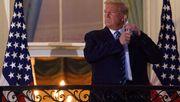 Rätselraten um die Maske des Präsidenten