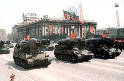 Militär-Parade in Nordkorea: Abschreckung durch Atomwaffen