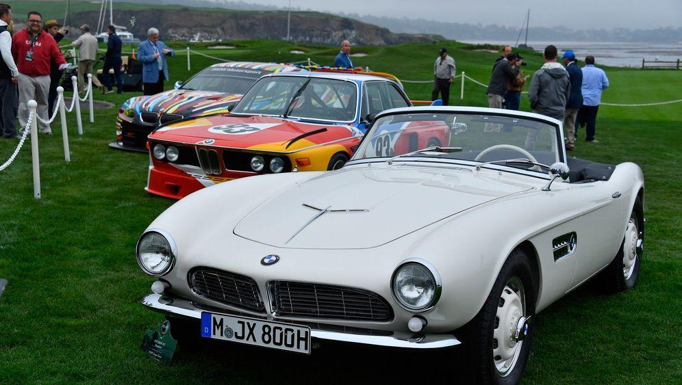 Elvis' restaurierter BMW 507: Erst Rennwagen, dann Rock'n'Roll