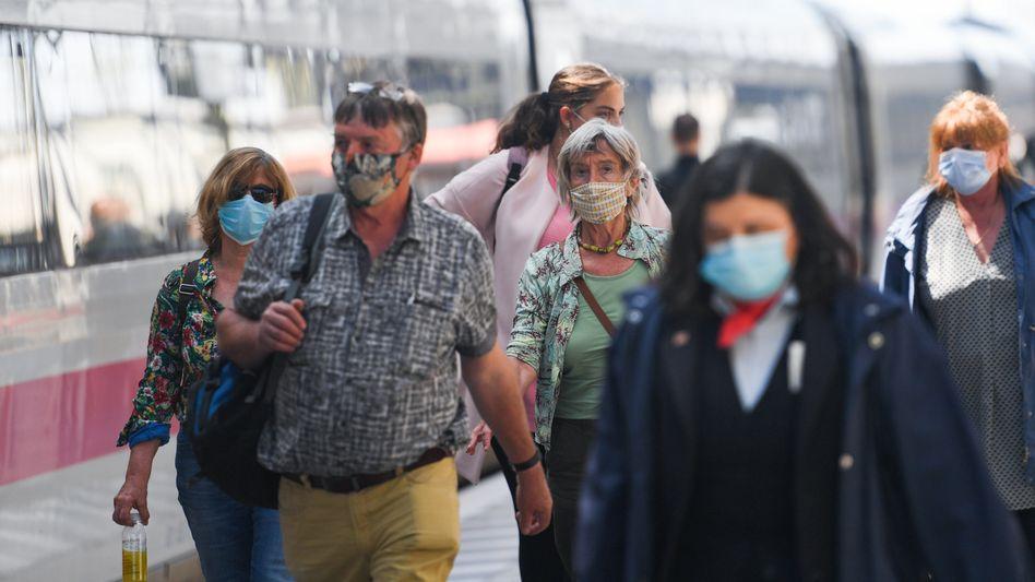 Frankfurter Hauptbahnhof: Die Coronakrise macht auch der Bahn zu schaffen