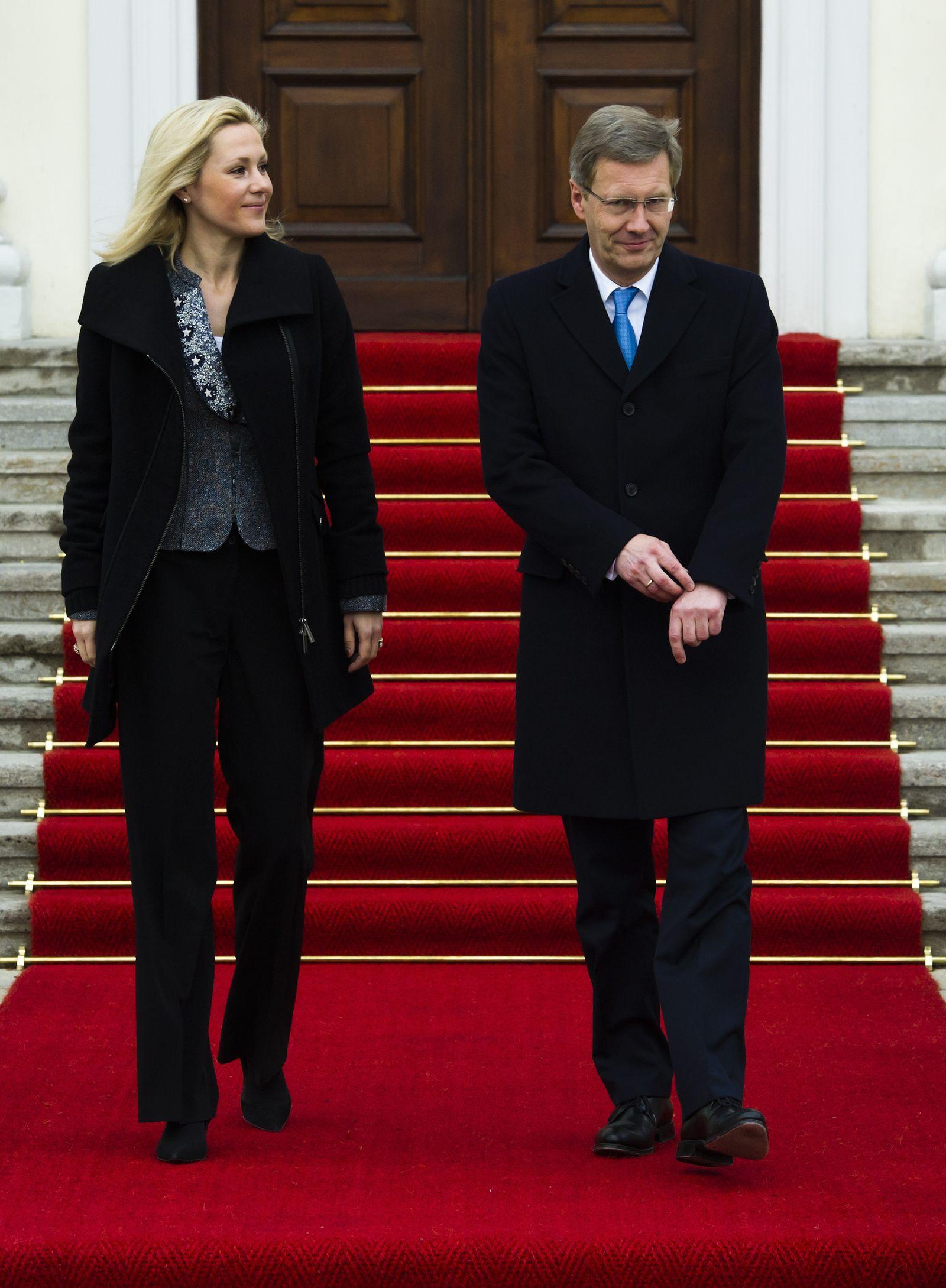 NICHT VERWENDEN Christian und Bettina Wulff
