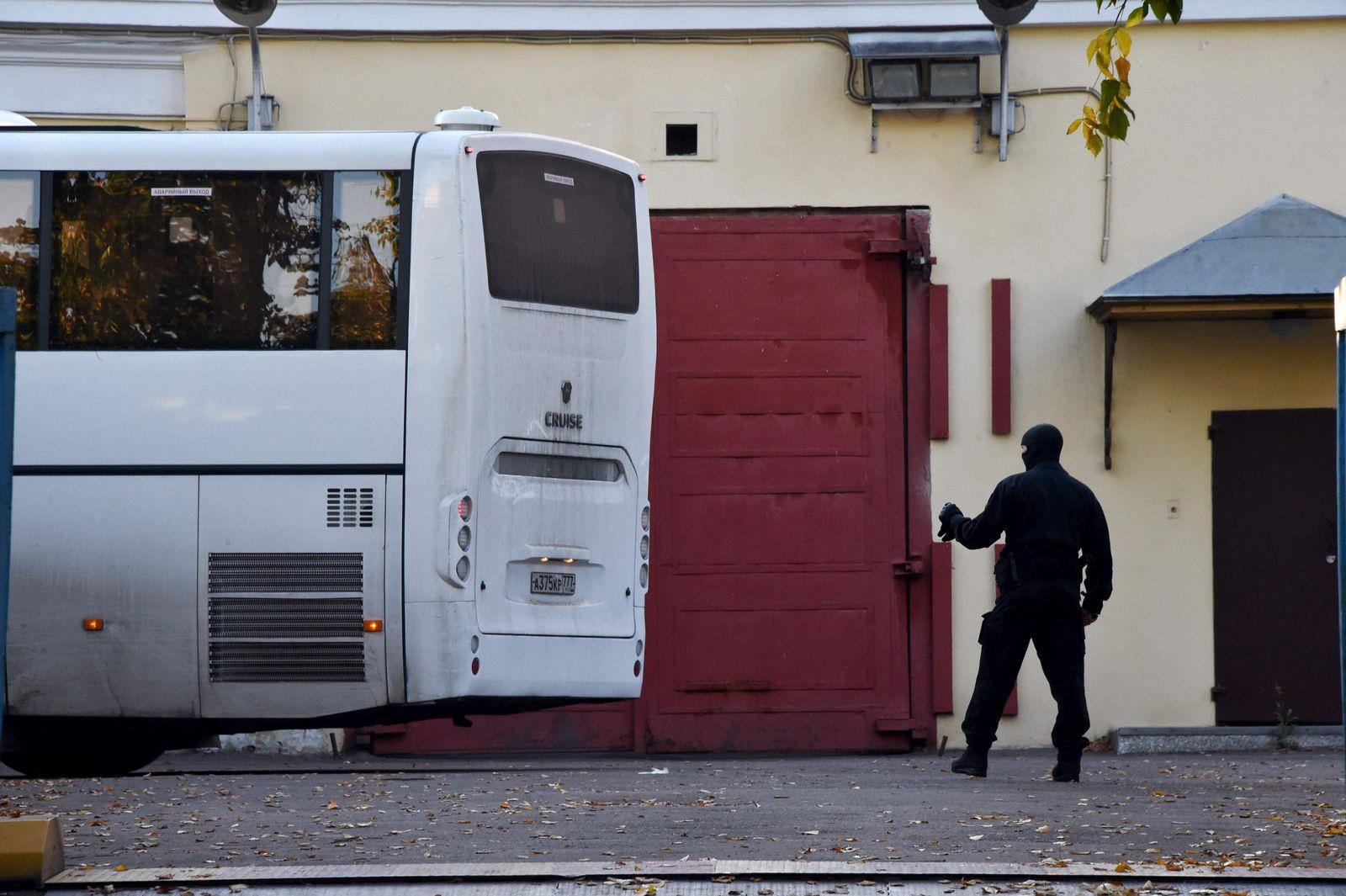 Gefangenenaustausch/ Russland/ Ukraine