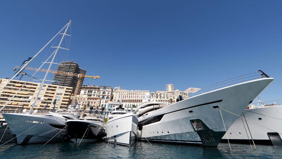 Yacht-Show in Monaco