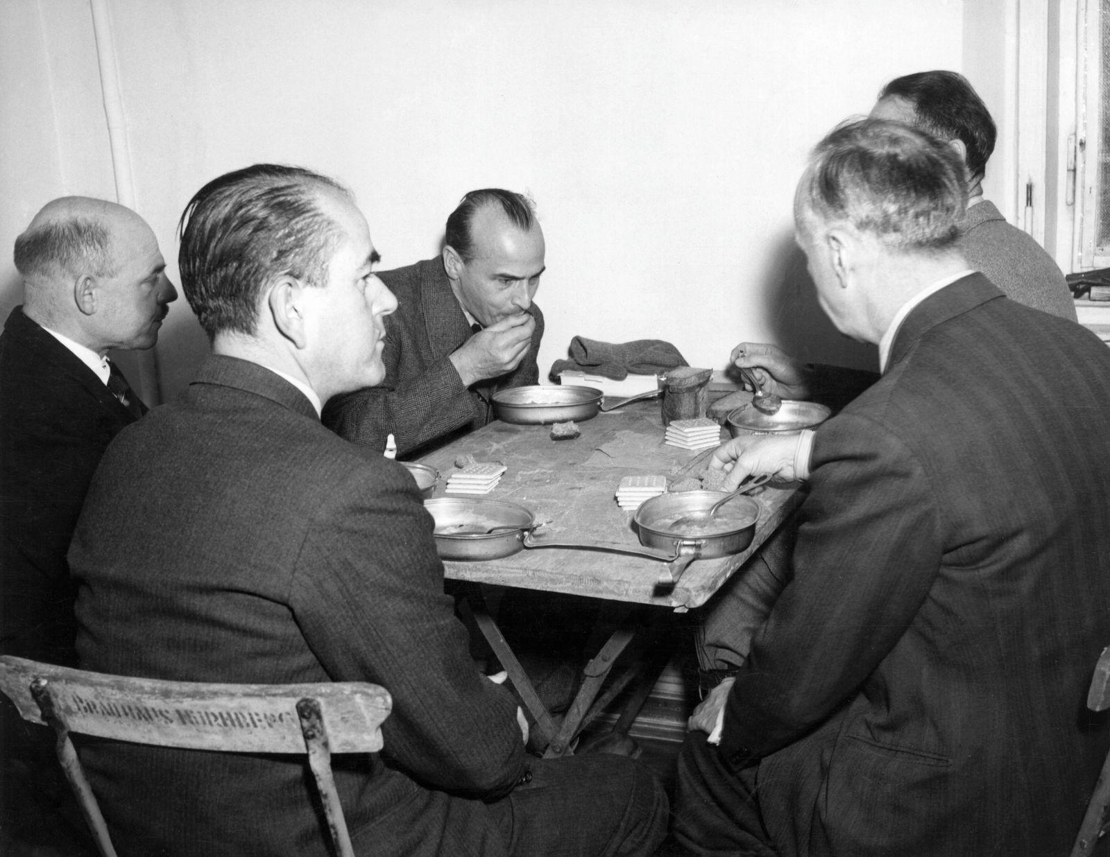 DefendantsAt The Nuremberg Trials