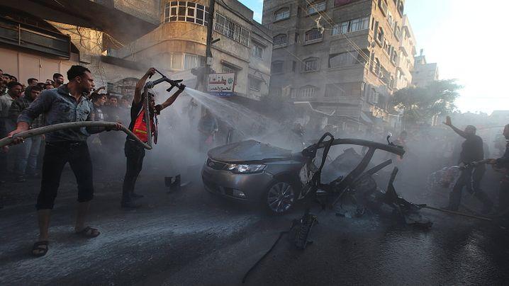 Angriff im Gaza-Streifen: Israel tötet Hamas-Militärchef