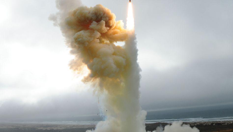 Raketentest in Kalifornien (Januar): USA sehen von neuem Start vorerst ab