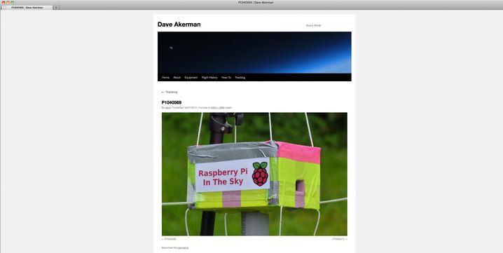 Raspberry Pi unter einem Ballon: Höhenrekord für den Mini-Computer